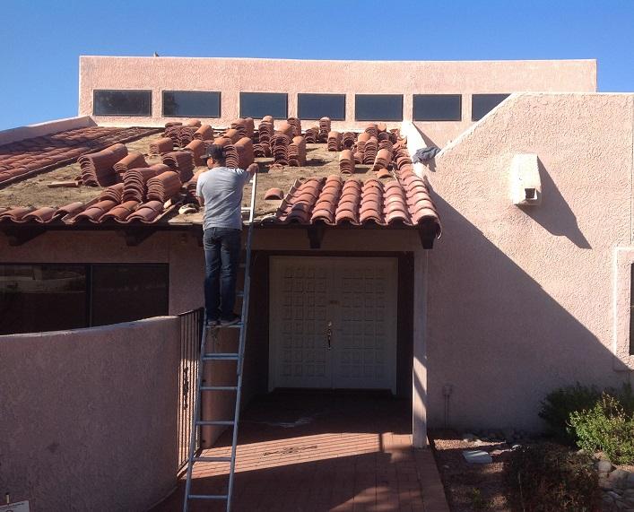 Tonys roofing Tucson